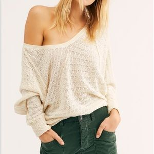 Free People We The Free Thien's Hacci Top